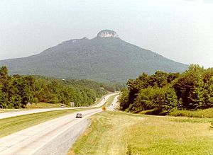 Surry County, North Carolina - Pilot Mountain