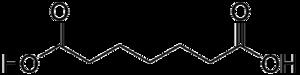 Pimelic acid - Image: Pimelic acid