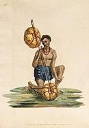 Saraswati met een ālāpiṇī vīṇā