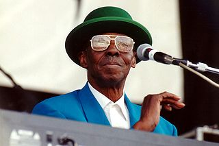 Pinetop Perkins American blues pianist
