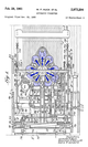 Pinsetter patent 2973204 diagram excerpt crop.png