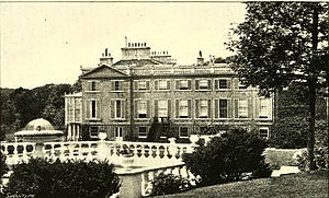James Ferguson (Scottish politician) - Side view of Pitfour House around the late 1800s