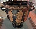 Pittore degli argonauti (etrusco), cratere con personaggi maschili nudi, prbabilm. argonauti, 400-380 ac ca, da chiusi 06.JPG