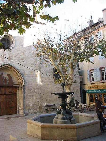 Place Saint-Sauveur, France , Manosque, Provence, France