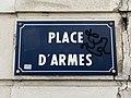 Plaque Place Armes - Saint-Maur-des-Fossés (FR94) - 2020-08-24 - 1.jpg