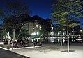 Platz der Alten Synagoge in Freiburg mit Synagogenbrunnen und Stadttheater.jpg