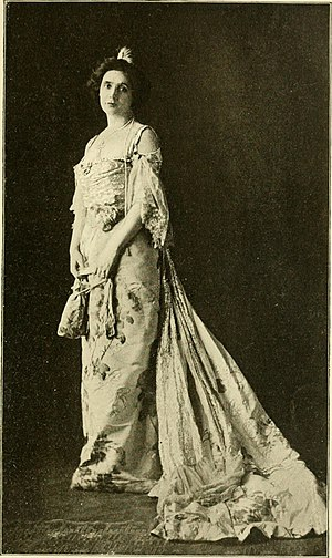 The Second Mrs Tanqueray - Mrs. Patrick Campbell as Paula Tanqueray in the 1902 Broadway revival