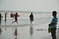 Playful People with Sea Waves - New Digha Beach - East Midnapore 2015-05-01 8772.JPG