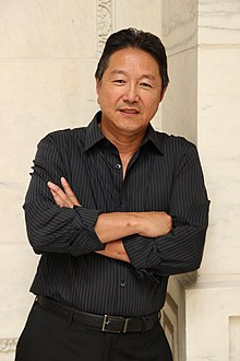 Playwright Rick Shiomi in New York in 2011. Photo by Lia Chang.JPG