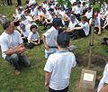 Pliant'tie du Tchêne du Chent'naithe La Preunmié Tou Saint Hélyi Jèrri 16 dé Mai 2011 10.jpg