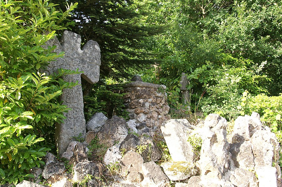 Croix de Kerduellic à Ploemeur.