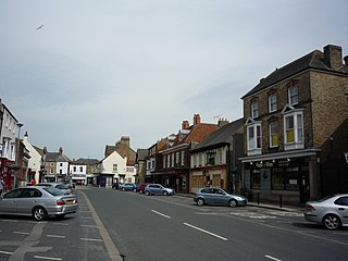 Pocklington town in the East Riding of Yorkshire, England