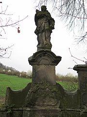 Sousoší svatého Jana Nepomuckého se svatým Vavřincem a svatým Donátem
