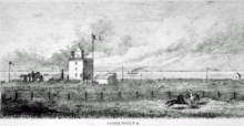 Image du second phare de Pointe-au-Père, Canadian Illustrated News (1873)