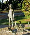 Pojke med gäss, Slottsparken, Malmö.jpg