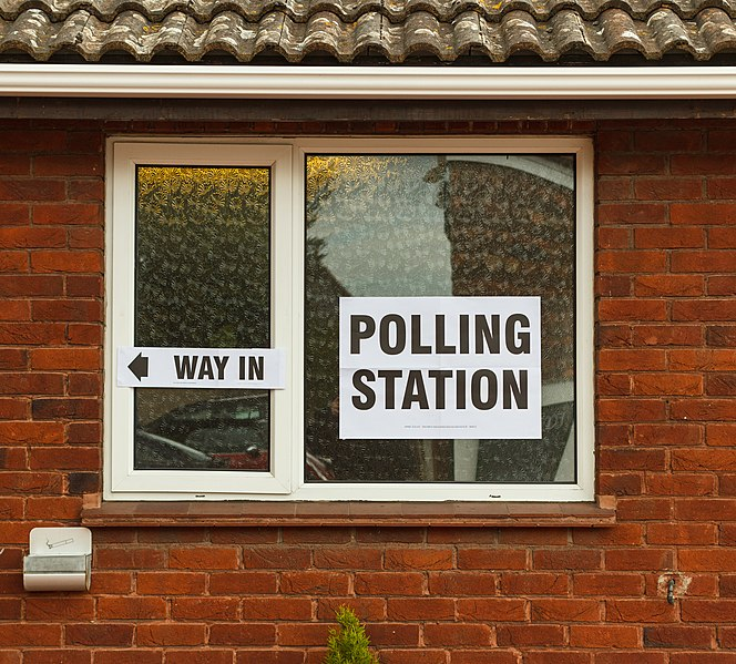 Polling stations!