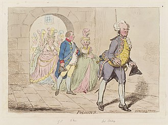 James Cecil, 1st Marquess of Salisbury - Lord Salisbury (in the front) with George III and Charlotte Sophia of Mecklenburg-Strelitz.