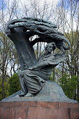 Chopin Statue, Warsaw