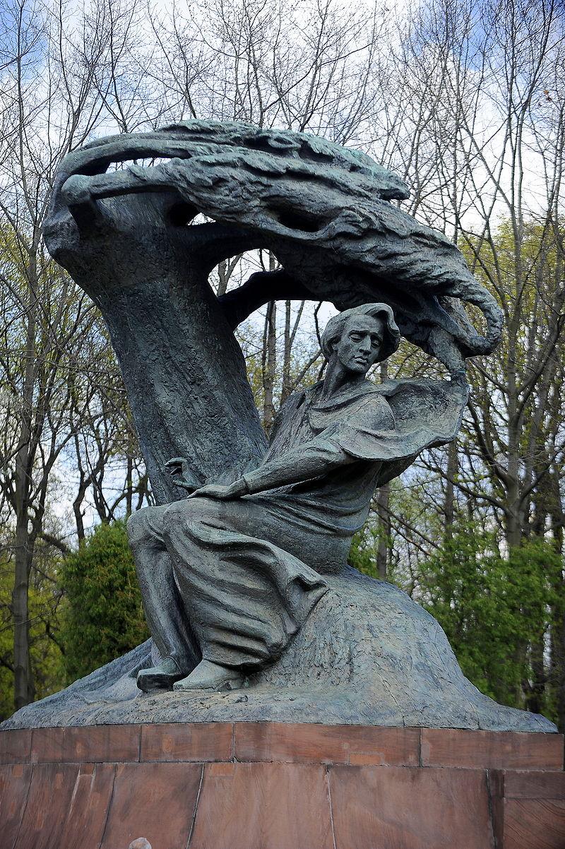 Pomnik Fryderyka Chopina w Warszawie