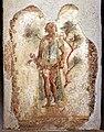 Pompei, lupanare, affreschi erotici 05 priapo.jpg
