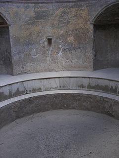 Pompeii forum baths frigidarium 2
