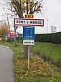 Pont-à-Marcq-FR-59-panneau d'agglomération-01.jpg