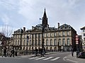 Pont Sainte-Madeleine, Château des Rohan et la Cathédrale, Strasbourg.jpg