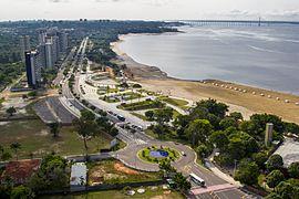 Praia Da Ponta Negra Manaus Wikip 233 Dia A Enciclop 233 Dia