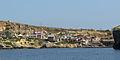 Popeye Village viewed from the sea.jpg