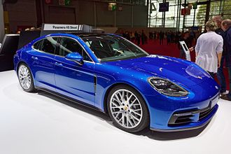 2016 Paris Motor Show - Porsche Panamera at the 2016 Paris Motor Show