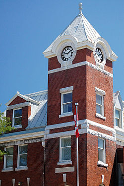 Historic Post Office in Downtown Port Perry