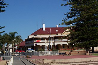 Port Broughton, South Australia - The Port Broughton Hotel in 2006