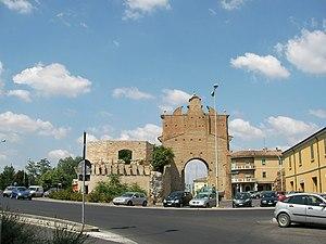 Forlì - Porta Schiavonia.