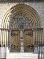 Portail église St jean baptiste Belleville Paris.jpg