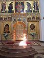 Portes de l'iconostase de la Cathédrale de la Dormition à Iaroslavl.JPG