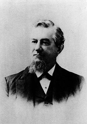 Edward Falles Spence - E. F. Spence in 1885