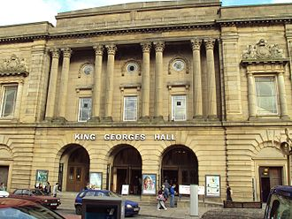 """Kathleen Ferrier - King George's Hall, Blackburn, the venue in which Ferrier made several youthful appearances as an accompanist at """"celebrity"""" concerts"""