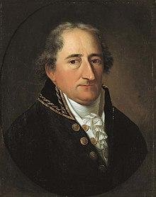 Karl Freiherr vom Stein, Gemälde von Johann Christoph Rincklake, 1804 (Quelle: Wikimedia)
