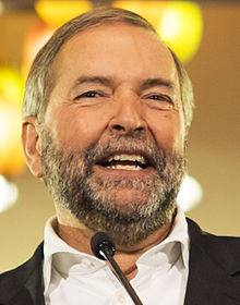 Thomas Mulcair en 2015.