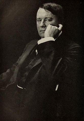 Alfred Harmsworth, 1st Viscount Northcliffe - Portrait of Alfred Harmsworth, 1st Viscount Northcliffe, by Gertrude Kasebier
