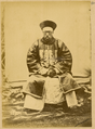 Portrait of Hankou Daotai, a Chinese Official, in Official Winter Uniform with Embroidered Badge of Office on His Chest and Court Beads. Hankou, Hubei Province, China, 1874 WDL1909.png