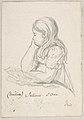 Portrait of Juliane Sophie Heger as a Child, leaning on a Table MET DP800032.jpg