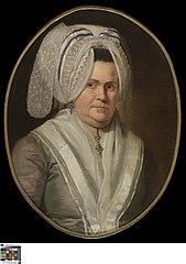 Portret van Maria Coutteau