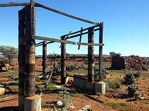 Mount Magnet, Western Australia - Poverty Flats, Mount Magnet, where alluvial gold was discovered in 1891.