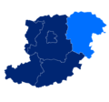Powiat średzki granice gmin i miast Miękinia.png