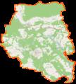 Powiat międzyrzecki location map.png
