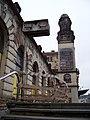 Praha hlavní nádraží, Fantova budova, podél Wilsonovy.jpg