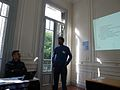 Presentación de Wikimedia Bolivia en Iberoconf II.jpg