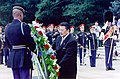 President Estrada at the Tomb of the Unknown Soldier (2000).jpg