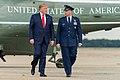 President Trump Departs for West Virginia (48372950736).jpg